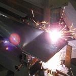 丸パイプ,角パイプ,鋼材,溶断,加工,プラズマ,ガス